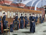 Telephone Service in Madrid (1886) Photographic Print by  Prisma Archivo