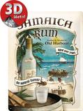 Jamaica Rum Plaque en métal