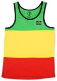 Catch a Fire - Rasta Stripe Tank Camisetas