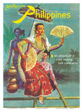 Southern Philippines: An Adventure in Color, Beauty, Rich Contrasts Pôsters