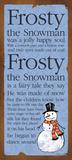 Frosty Poster von Stephanie Marrott