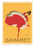 Saharet - Dance Performance Advertisement, c.1902 Posters by Maurice Biais