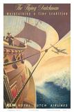 KLM Royal Dutch Airlines: The Flying Dutchman, c.1956 Plakater av Leendert Spierenburg