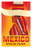 Pan American: Mexico, c.1968 Affiches