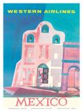 Western Airlines: Mexico, c.1959 Kunstdrucke von Will Grant