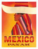 Pan American: Mexico, c.1968 Giclée-tryk
