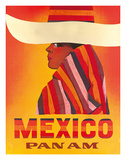 Pan American: Mexico, c.1968 Giclee Print
