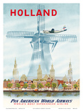 Pan American: Holland, c.1951 Posters