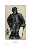 Peasant Walking Poster por Vincent van Gogh