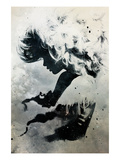 Black Cloud Poster van Alex Cherry