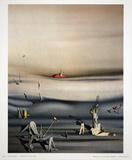 Jours de Lenteur Impressão colecionável por Yves Tanguy