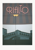 Rialto Serigraph by Perry King