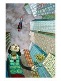 Where Are My Powers Giclée-Premiumdruck von Aaron Jasinski