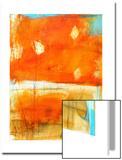 Orange Abstract, c.2009 Posters por Alison Black