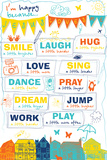 Happy Life Plakater