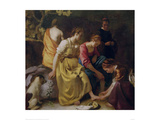 Diana and her Companions Giclee Print by Johannes Vermeer