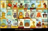 Alfabeto de Animais Impressão montada por Jenn Ski