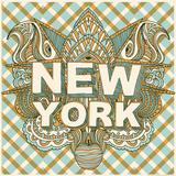 New York Serigrafie von  Hero Design