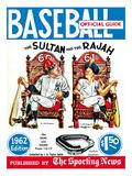New York Yankees Babe Ruth and Roger Maris - Baseball Guide - January 1, 1962 Foto