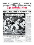 New York Jets' QB Joe Namath - January 1, 1966 Photo