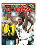 Michigan State Spartans' Mateen Cleaves - National Champions - April 10, 2000 Foto