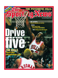 Chicago Bulls' Chicago Bulls - June 2, 1997 Photographie