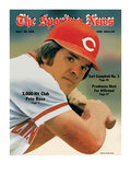 Cincinnati Reds Slugger Pete Rose - May 20, 1978 Photographie