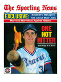 Atlanta Braves OF Dale Murphy - April 29, 1985 Fotografía