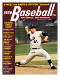 New York Mets Pitcher Tom Seaver - 1970 Street and Smith's Photo