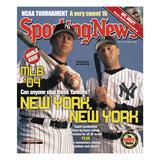New York Yankees Alex Rodriguez and Derek Jeter - March 29, 2004 Foto