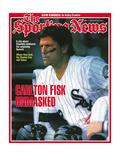 Chicago White Sox C Carlton Fisk - May 17, 1993 Fotografía