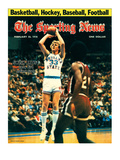 Indiana State Sycamores Forward Larry Bird - February 25, 1978 Photographie
