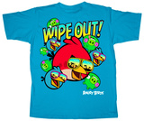 Youth: Angry Birds - Wipe Out Tshirt