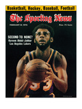 Los Angeles Lakers' Kareem Abdul-Jabbar - February 14, 1976 Foto