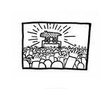 Untitled, 1980 Lámina giclée por Keith Haring