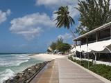 Hastings Beach Boardwalk, Barbados, Windward Islands, West Indies, Caribbean, Central America Photographic Print by Michael DeFreitas