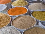 Spices For Sale, Addis Ababa, Ethiopia, Africa Fotografie-Druck von Michael Runkel