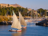 River Nile, Aswan, Upper Egypt, Egypt, North Africa, Africa Photographic Print by Alan Copson