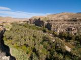 Wonderful Canyon Balcon De Ghoufi, Aures Mountains, Eastern Algeria, Algeria, North Africa, Africa Fotografisk tryk af Michael Runkel