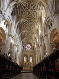 Christ Church Cathedral Interior, Oxford University, Oxford, England Photographic Print by Peter Barritt