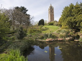 Cabot Tower, Brandon Hill Park, Bristol, Avon, England, United Kingdom, Europe Reproduction photographique par Jean Brooks