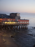 Old Restored Cannery in Monterey, California, United States of America, North America Reproduction photographique par Donald Nausbaum