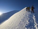 Summit Ridge of Mont Blanc at 4810M, Chamonix, French Alps, France, Europe Photographic Print by Christian Kober