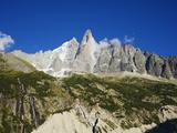 Aiguilles Du Dru, Mont Blanc Range, Chamonix, French Alps, France, Europe Photographic Print by Christian Kober