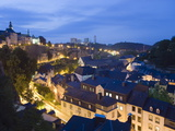 Old Town, Luxembourg City, Grand Duchy of Luxembourg, Europe Photographic Print by Christian Kober