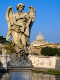 Vatican and River Tiber, Rome, Lazio, Italy, Europe Reproduction photographique par Charles Bowman