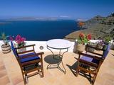 Fira, Island of Santorini (Thira), Cyclades Islands, Aegean, Greek Islands, Greece, Europe Fotografie-Druck von Sergio Pitamitz