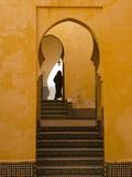Mausoleum of Moulay Ismail, Meknes, Morocco, North Africa, Africa Impressão fotográfica por Marco Cristofori