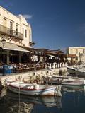 Old Venetian Harbor, Rethymno, Crete, Greek Islands, Greece, Europe Photographic Print by Richard Maschmeyer