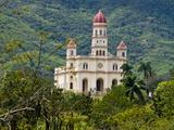 Basilica De Nuestra Senora Del Cobre, El Cobre, Cuba, West Indies, Caribbean, Central America Fotografie-Druck